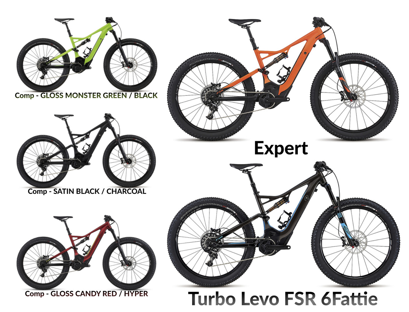 2017 Specialized Turbo Levo FSR 6fattie Modellübersicht