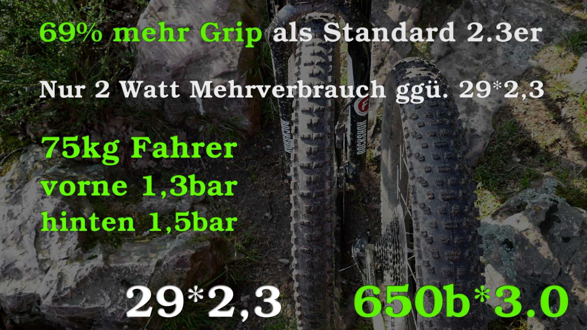 29er vs. 6Fattie
