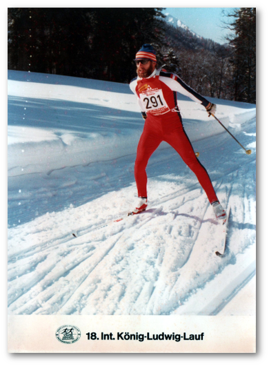 Anton Kellerer beim 18. Int. König-Ludwig-Lauf