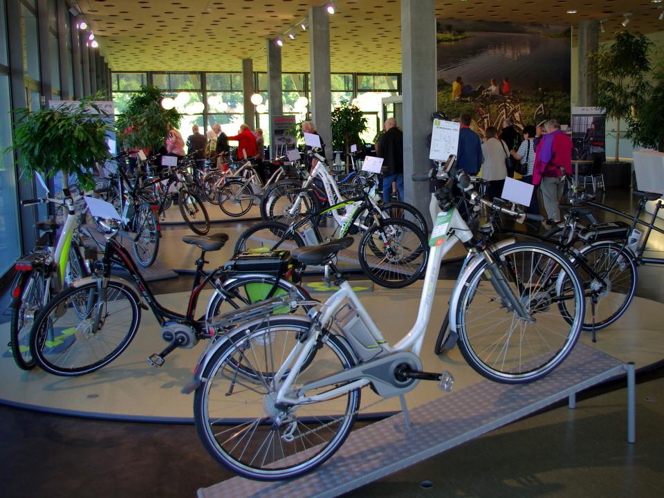 Flyer E-Bike Werk Ausstellung