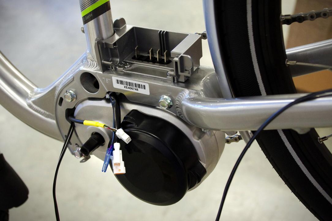 Flyer Werksbesichtigung Produktion E-Bike Montage