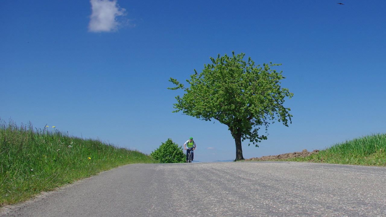 Flyer Werksbesichtigung Klaus Kastner auf E-Bike Tour