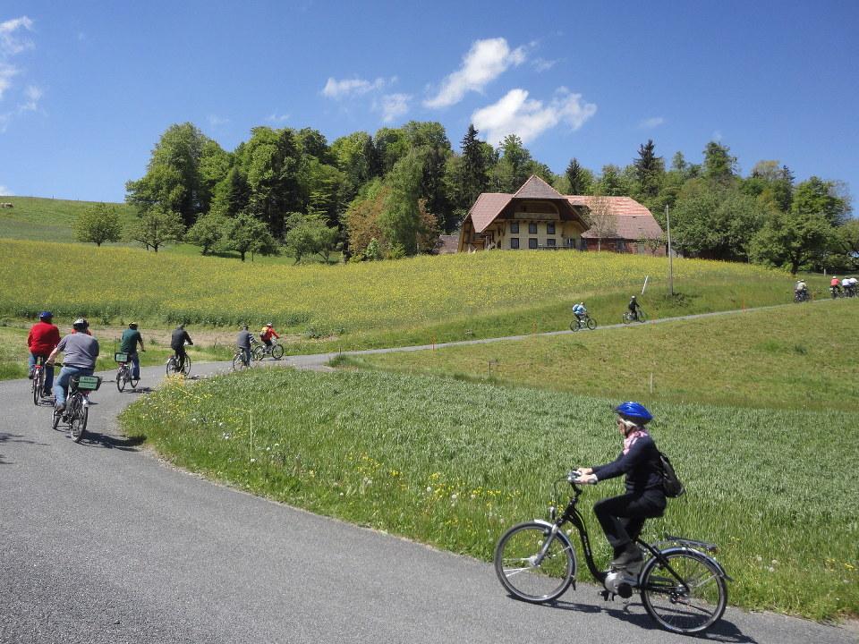E-Bike steiler Anstieg