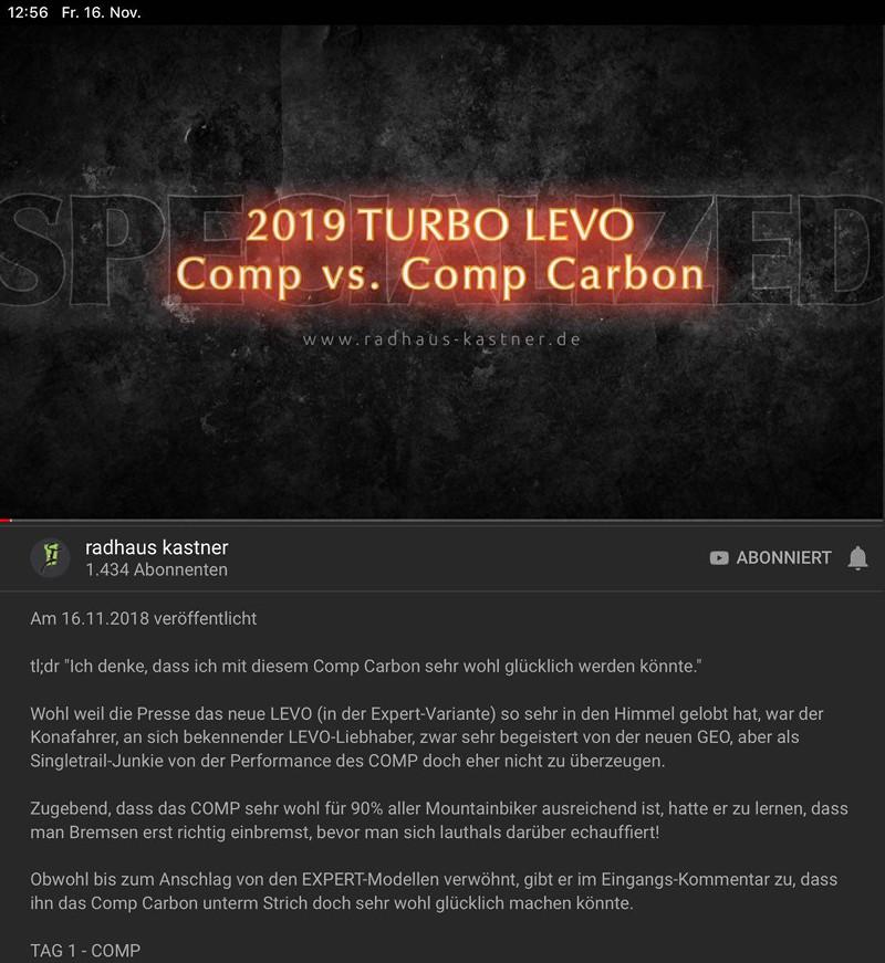 2019 Specialized Turbo LEVO Lineup