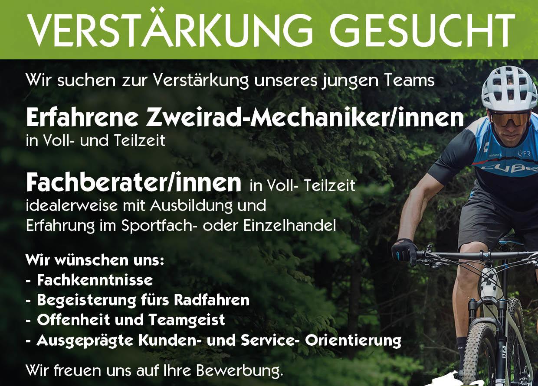Stellenanzeige Fachberater fahrrad