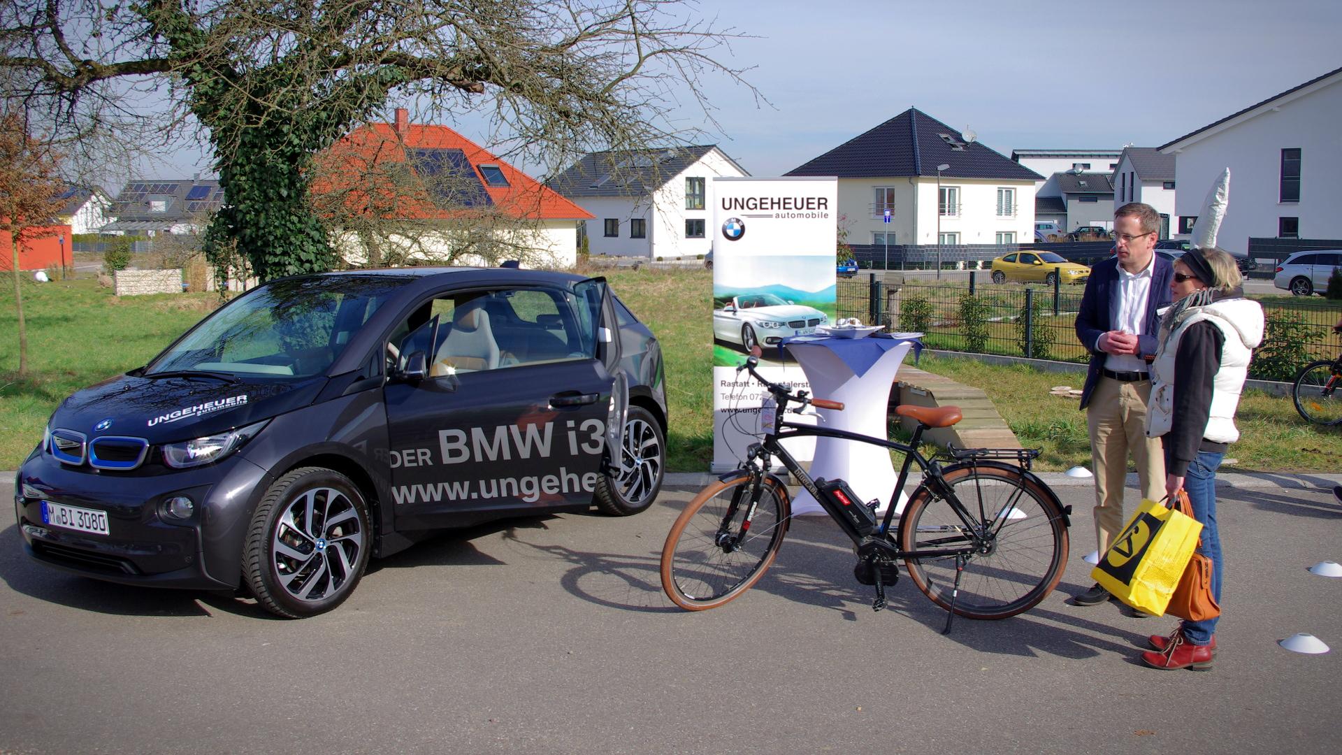 BMW i3 vom Autohaus Ungeheuer Rastatt