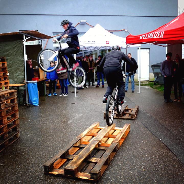 Bike-Trial-Show Felix Kaiser & Max Schrom