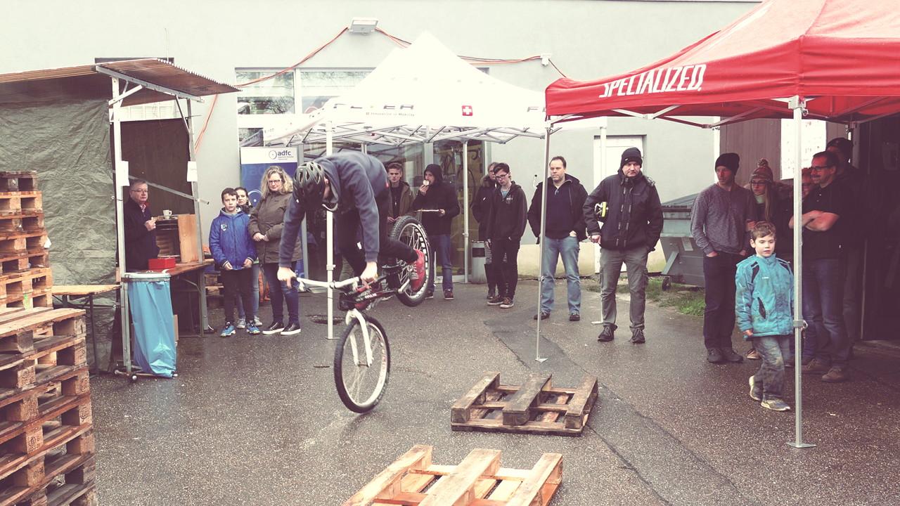 bike Trial Artist Felix Kaiser